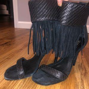 Schutz black heels